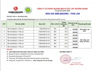 Báo giá tấm Dăm gỗ SmileBoard SCG Thái Lan 2018