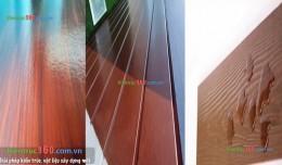 Kỹ thuật sơn mầu giả gỗ lên tấm xi măng , tường nhà bền đẹp nhất !