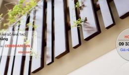 Ngạc nhiên trước vẻ đẹp gỗ Conwood ốp tường trang trí !