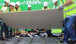 Hướng dẫn dùng tấm cemboard làm sàn chịu lực siêu nhẹ thay bê tông.