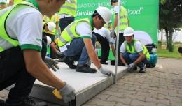 [ Tiết lộ 5 bước ] Làm sàn nhà bằng tấm cemboard Thái Lan giá rẻ bảo hành 50 năm