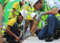 Constacom Academy hướng dẫn kỹ thuật thi công tấm xi măng Cemboard hiệu Duraflex Vĩnh Tường