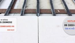 Kỹ thuật thi công sàn nhà bằng tấm xi măng Cemboard chuẩn nhất !