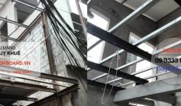 Ứng dụng tấm Cemboard - Tấm Duraflex vào Mẫu Xây nhà bằng vật liệu nhẹ