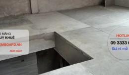 Tấm Cemboard - Kinh nghiệm sửa nhà làm gác xép bằng tấm Duraflex Vĩnh Tường giá rẻ nhất