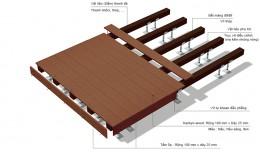 Nhận thi công sàn gỗ Conwood trang trí làm gác xép giá rẻ tại Hà Nội