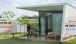 [Tấm cemboard] vật liệu hướng tới các Villa, Bungalow, Resort...