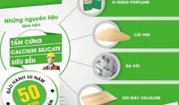 Tấm Calcium Silicate - Giải Pháp Mới Cho Ngành Vật Liệu Xây Dựng
