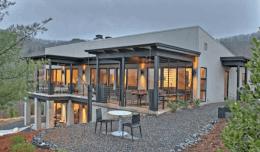 Làm Nhà Bằng Khung Sắt - Nhà Khung Sắt Tiền Chế Đẹp