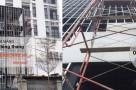 Thi công tấm Cemboard Duraflex Vĩnh Tường làm vách thang Bắc Ninh