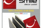 Tấm CementBoard SCG - Dăm gỗ SmileBoard Thái Lan