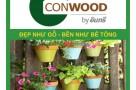 Giá gỗ Conwood - Gỗ nhân tạo ốp ngoài trời tại Hà Nội