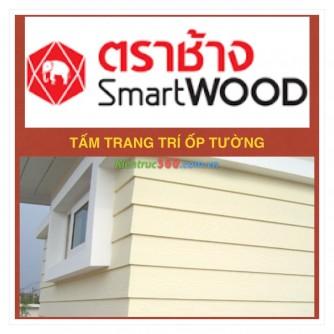 Báo giá tấm gỗ nhân tạo Smartwood ốp tường sàn gỗ ngoài trời tại hà nội