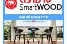 Sàn Gỗ ngoài trời Smartwood Vật liệu chịu nước tối ưu