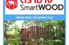 Hàng Rào Gỗ Trang Trí Smartwood Siêu chịu nước