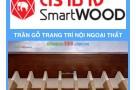 Trang trí trần gỗ nội ngoại thất bằng tấm SmartWood Thai Lan