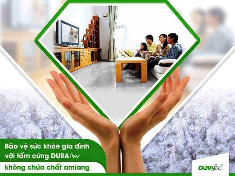 An toàn cho sức khỏe Tấm DURAflex
